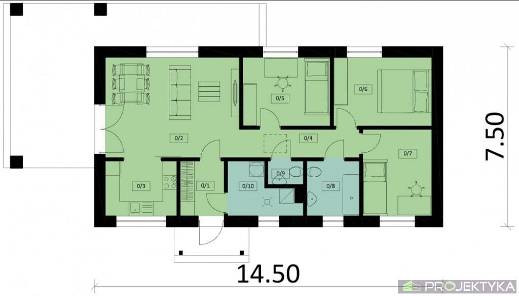 Ka73 Mitek Projekty Domów Jednorodzinnych